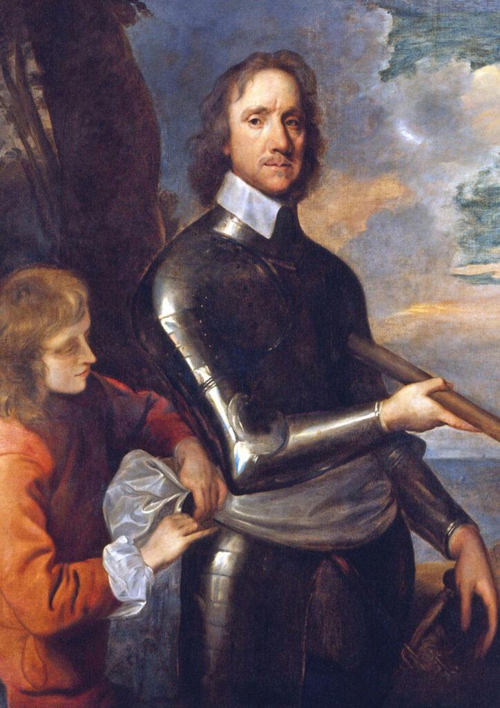 Oliver Cromwell In Bristol