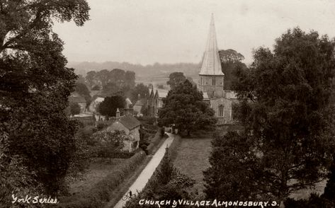 almondsbury village
