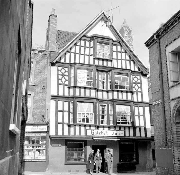 Oldest Pub in Bristol The Hatchett Inn