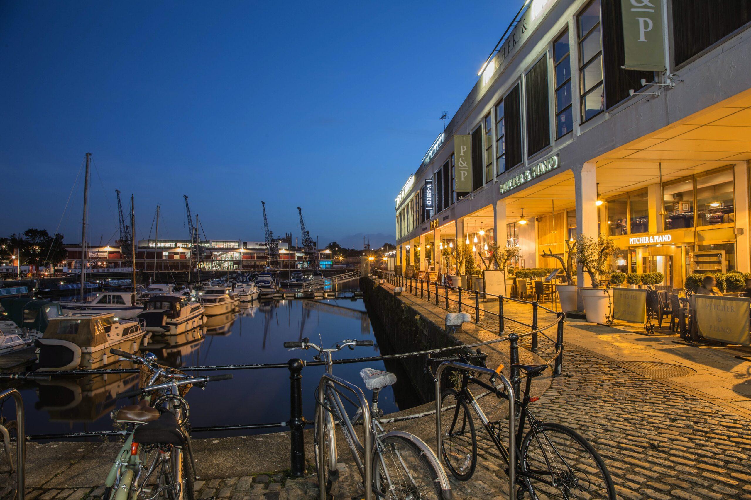 Harbourside Walk Bristol